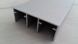 Горна двойна релса, алуминий за 105/106