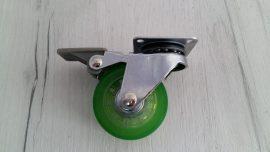 колелце зелено със стопер