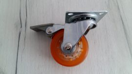 колелце оранжево със стопер
