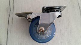колелце синьо със стопер