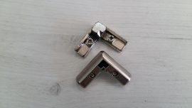 DECOFIX ъглова сглобка за алуминиев профил за вратички