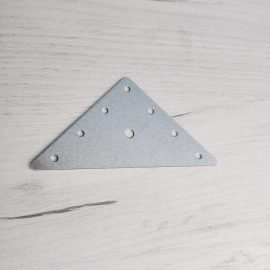 триъгълна планка