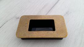 вкопана дръжка 630 злато антик