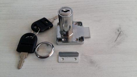 Ключалка К 128 – 38 Квадратна  с насрещник , чупещ ключ Ø19 , L-38