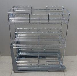 Кошница 3 - етажна за шкаф 300 мм / CTX23